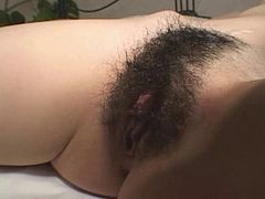 Big-titted Japanese gets fingered and fucked