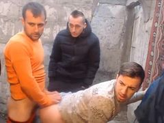 4 Romanian Boys Fuck Each Other Ass On Cam