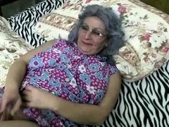 Crazy grandma super horny