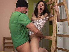 Nasty hot ass lady Conine gets drilled in a hot orgasm