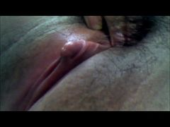 my asian hairy pussy (clit massage2)