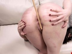 delightfully hardcore BDSM rope sex with anal action