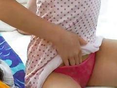 Masturbation with Panties Compilation