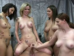 Naked Handjob Workout WF