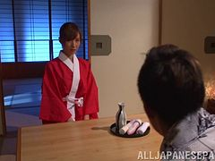 Amazing Japanese housewife oiled up and dildoed vigorously