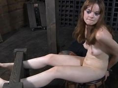 Cute lass waits for lusty agony