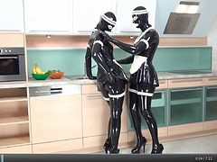 Rubber maids in the kitchen