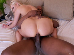 Anikka  Bubble Butt Is Ready For A Big Black Cock