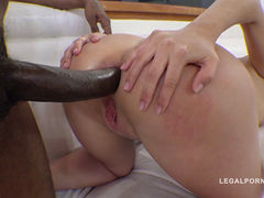 Katie Montana IR Anal With Black Monster Cock