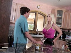 A hot MILF compilation where they get some younger dick