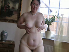 Amazing Mature Teasing and Stripping