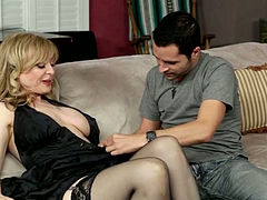 Filthy Family Volume black stockings