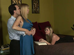 Aunt And Student Cocksucking Contest 10