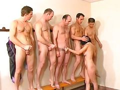 French Mom's First Gangbang...F70