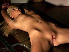 Teena Lipoldino being fucked by a dildo