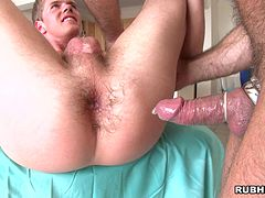 Nasty Gays scene along dudes rubbing cocks before fucking Hardcore