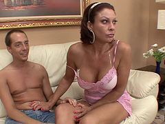 Mature slut Vanessa Videl wants to feel a virile hard cock again
