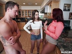 Janet Mason and Riley Reid - Stepmom Videos