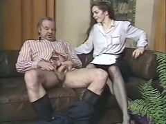 Slim whore gives her horny lover an amazing blowjob