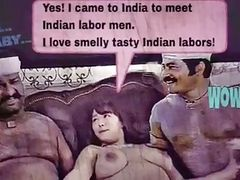cartoon: I LOVE INDIAN LABORS