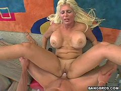 Hardcore Scene With Kayla A Hot Blonde With A Big Rack