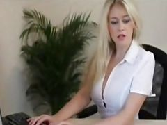 Office brit tells you to jerk it