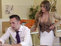 Madison Ivy is nailed by a thick cock
