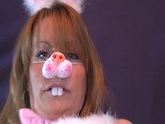 Easter Bunny Lady Fucks Chicken Man