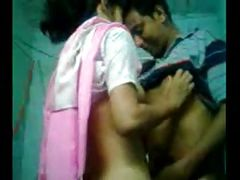 cute sexy indian girl playing with his bf