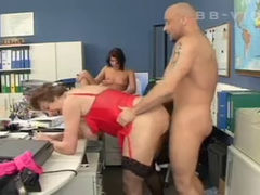 German girls fucked in the workshop