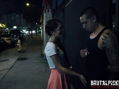 Joseline Kelly Fucked in an Alley
