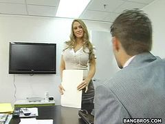 Boss Fucks Hot Worker In Lots Of Hot Positions