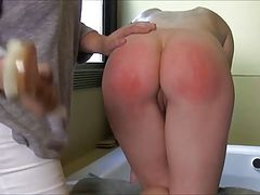 Bathroom Spanking