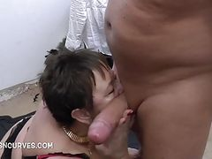 Hot insatiable Granny with an appetite for big cock
