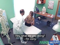FakeHospital Good hard sex with patient after earthquake