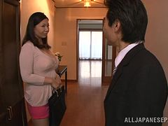 Japanese Couple Had A Hardcore Banging In The Kitchen