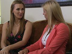Tanya is always pleased to get kinky and wild with Alexis Fawx