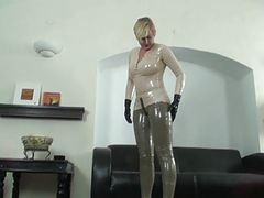 Latex SUCKPANT BLOWJOB