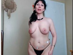 Silvana sexy MLF show pussy