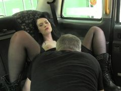 British amateur creampie by horny cab driver
