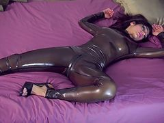 Latex im Bed