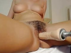 Big tits and a hairy pussy 2