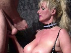 German Big Natural Tit MILF Seduce to Fuck by Stranger
