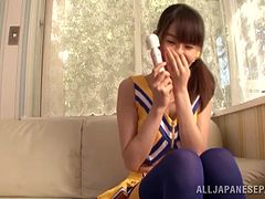 Incredible Meisa Chibana Gets Masturbated With A Wicked Toy