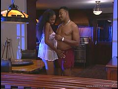 Spectacular Ebony Goes Hardcore With A Steamy Fellow
