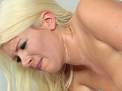 Sweet charming blonde Layla Price earned herself a good sex