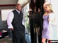 Beautiful Shyla Stylez enjoys another dose of interracial pounding