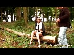 french schoolgirl needs deep anal
