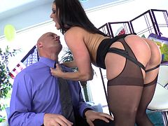 Hardcore pegging action with Christian XXX and Kendra Lust