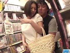 Public porn session along hot ass Ran Minami